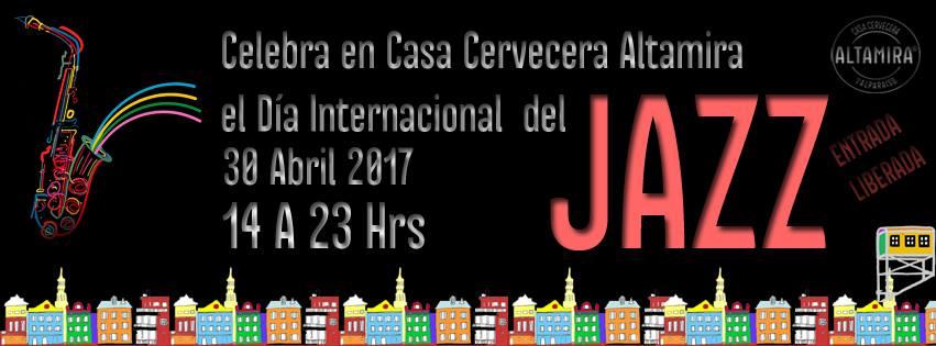 """Casa Cervecera Altamira festejará este domingo 30 de abril el """"Día Internacional del Jazz"""" con una jornada completa de actividades familiares gratuitas."""